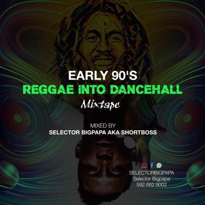 Cover art for early 90's reggae into dancehall mixed by sel bigpapa