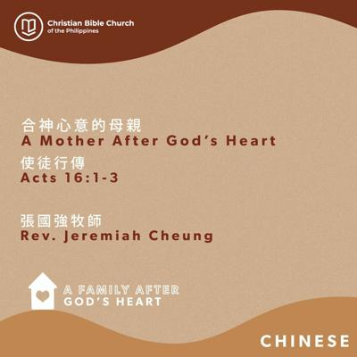 Cover art for 合神心意的母親 A Mother after God's Heart