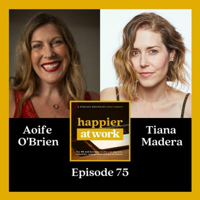 Cover art for 75: Let go of fear & craft your career with Tiana Madera