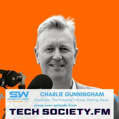 Cover art for 54. Charlie Gunningham talking with Tech Society