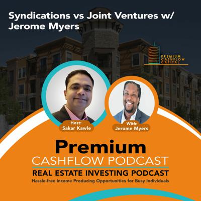 Cover art for SK123 - Syndications vs Joint Ventures w/ Jerome Myers