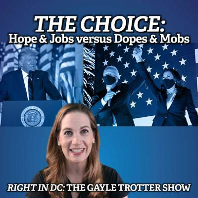 Cover art for THE CHOICE: Hope & Jobs versus Dopes & Mobs