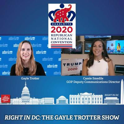 Cover art for GOP Convention Day 2 Recap with Cassie Smedile, GOP Deputy Communications Director