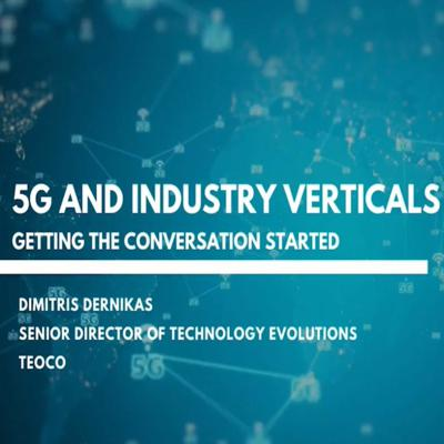 Cover art for 5G and Industry Verticals