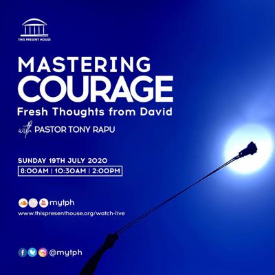Cover art for Mastering Courage - Fresh Thoughts from David