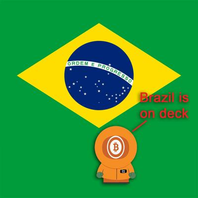 Cover art for Bitcoin And . . . Brazil Ep489