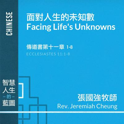 Cover art for 面對人生的未知數 Facing Life's Unknowns