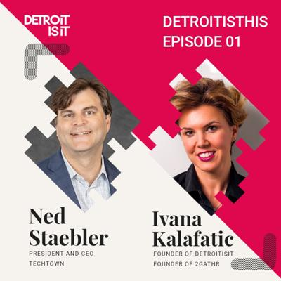 Cover art for Ned Staebler, CEO of TechTown, Addressing The Real Problems For Detroit | DetroitIsThis Episode 1