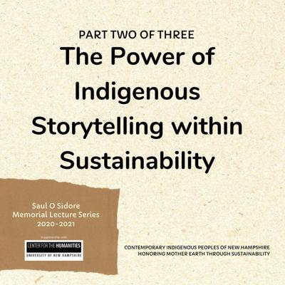 Cover art for 008: The Power of Indigenous Storytelling within Sustainability