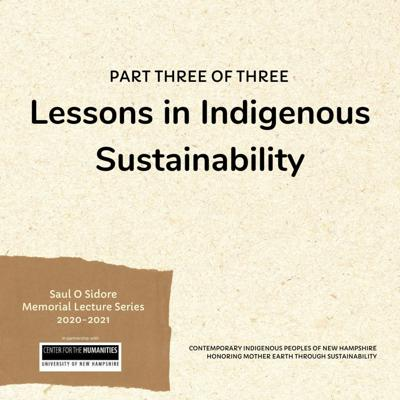 Cover art for 009: Lessons in Indigenous Sustainability