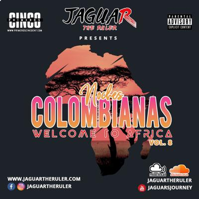 Cover art for Noches Colombianas Vol. 8 (AfroBeat)