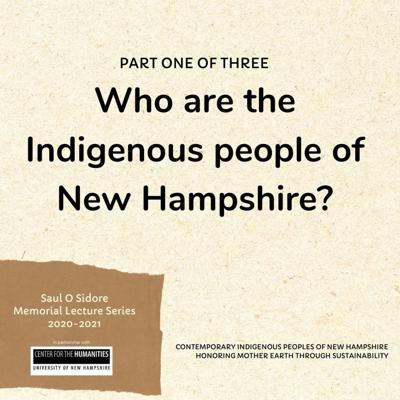 Cover art for 007: Who are the Indigenous People of New Hampshire