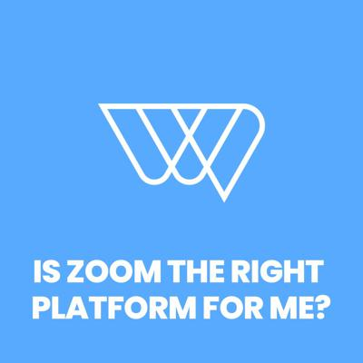 Cover art for Zoom - is it right for me?