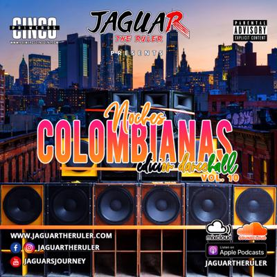 Cover art for Noches Colombianas Vol. 10 (Dancehall Raw)