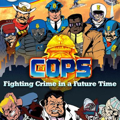 Cover art for COPS (feat. Andray Domise)