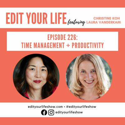 Cover art for Time Management + Productivity   Episode 226