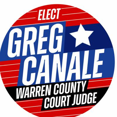 Cover art for Greg Canale - Warren County Judge Candidate