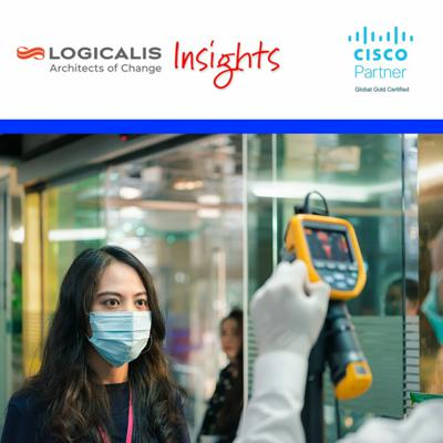 Cover art for Episode 4 - Thermal Detection Monitoring for COVID-19 - Logicalis Insights