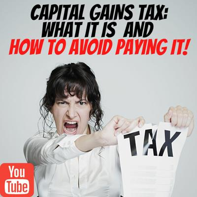 Cover art for How To Avoid Paying Capital Gains Tax?