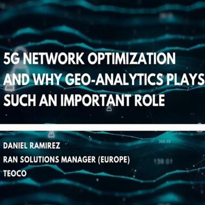 Cover art for 5G Optimization and Why Geo-Analytics Plays Such An Important Role
