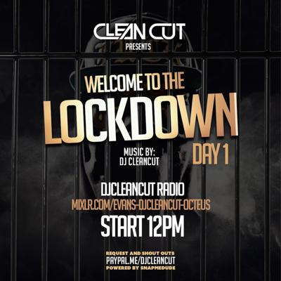 Cover art for Lock Down Day 1. 1 hour Test Mix