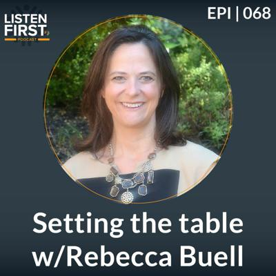 Cover art for 068 - Setting The Table w/Rebecca Buell