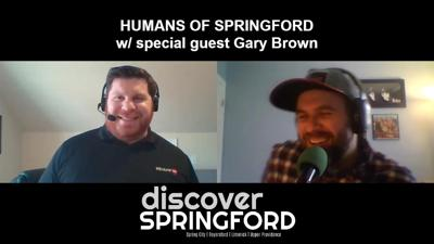 Cover art for #HumansOfSPRINGFORD 001: w/ special guest Gary Brown