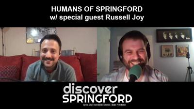 Cover art for #HumansOfSPRINGFORD 005: w/ special guest Russell Joy