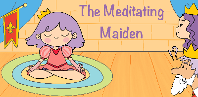 Cover art for Meditating Maiden by Rebecca Weaver