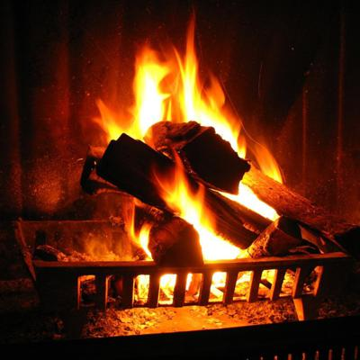 Cover art for Relaxing Crackling Fireplace
