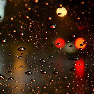 Cover art for Night Rain on a Car with Soothing Sounds