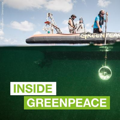 Inside Greenpeace takes you to the heart of Greenpeace's world in its epic journey to protect our planet. Through immersive sounds, stories and encounters, become part of Greenpeace and the movement for a sustainable and equitable world, and enjoy the inspiring stories that make change happen.