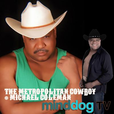 Cover art for THE METROPOLITAN COWBOY - Michael Coleman - Country Music