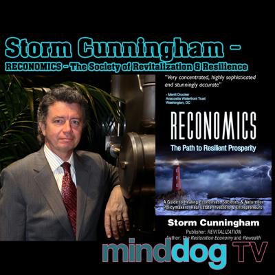 Cover art for Storm Cunningham - RECONOMICS - The Society of Revitalization & Resilience