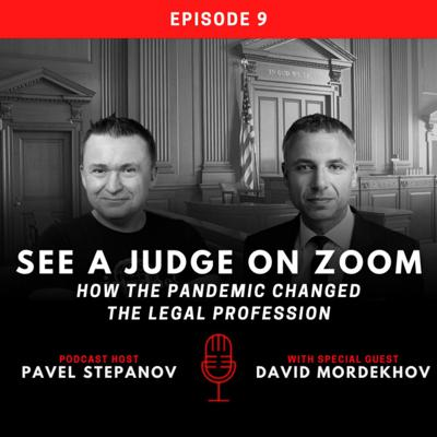 Cover art for See a Judge on Zoom - How the Pandemic Changed the Legal Profession