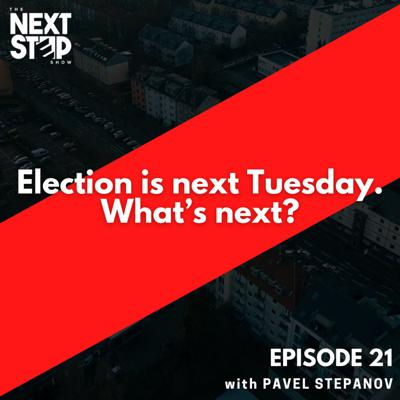 Cover art for Election is next Tuesday. What's next?