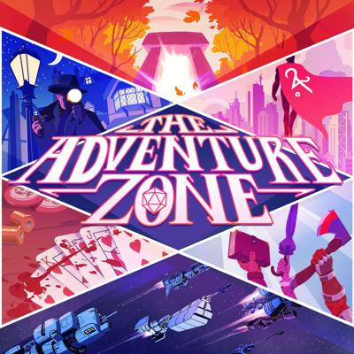 Cover art for The Adventure Zone: Amnesty Halloween Special!