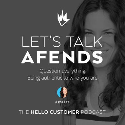 Cover art for Afends - Customer service via Live Chat in e-commerce - Hello Customer Podcast / Season One / Fashion