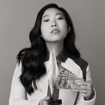 Cover art for Ep 156.  Awkwafina