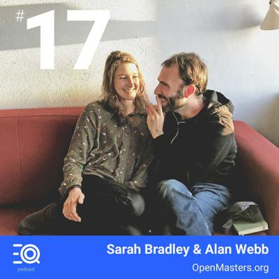 Cover art for #17 - Sarah Bradley and Alan Webb - Community powered and self-declared master degrees