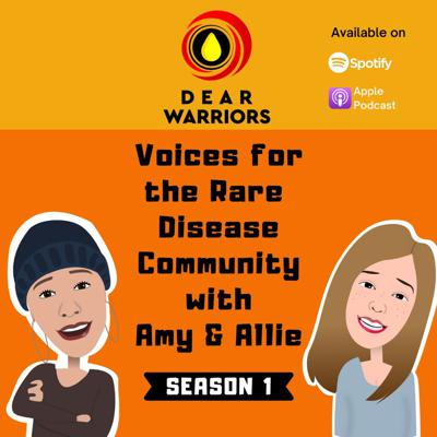 Dear warriors was created to help bring light to what has been in the shadows for many years; the rare disease community.  This podcast will allow recipients/patients, family or anyone caring for someone with a rare disease an opportunity to tell their story.  Our Goal is to help people living in this community feel less isolated, better informed and more engaged.