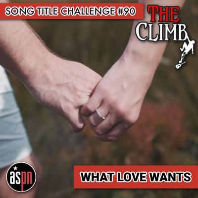 Cover art for Song Title Challenge #90: What Love Wants