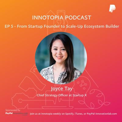 Cover art for EP 5- From Startup Founder to Scale Up Ecosystem Builder