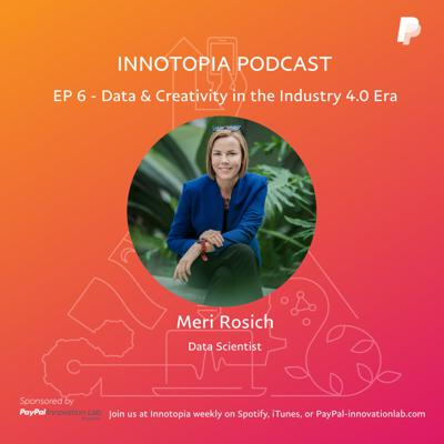 Cover art for EP 6- Data & Creativity in the Industry 4.0 Era