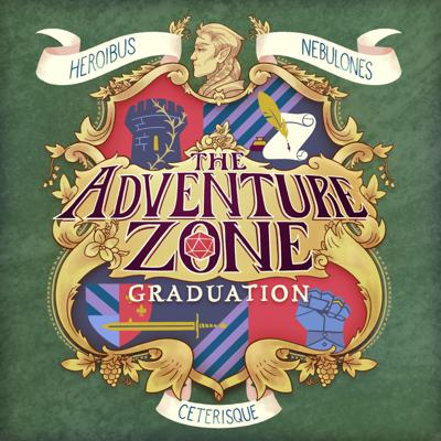 Cover art for The Adventure Zone: Graduation Ep. 36: Reunions