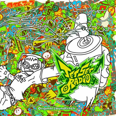 Cover art for The Music of Jet Set Radio
