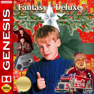 Cover art for Vaporwave for the Holidays