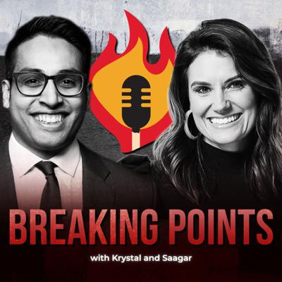 Breaking Points is a fearless anti-establishment multi-week Youtube and Podcast which holds the powerful to account hosted by Krystal Ball and Saagar Enjeti