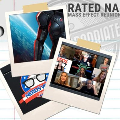 Cover art for Nerds Vote: Mass Effect Cast Reunion Special