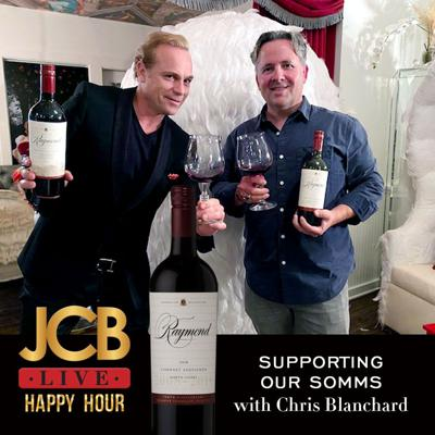 Cover art for JCB LIVE: Master Sommelier and Rap Extraordinaire, Chris Blanchard!